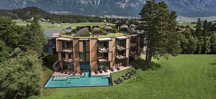 Kraftort. Der Lanserhof, gestaltet von Architekt Christoph Ingenhoven.