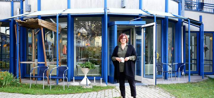 Elisabeth Purth leitet das Caritas-Haus St. Elisabeth in Döbling.