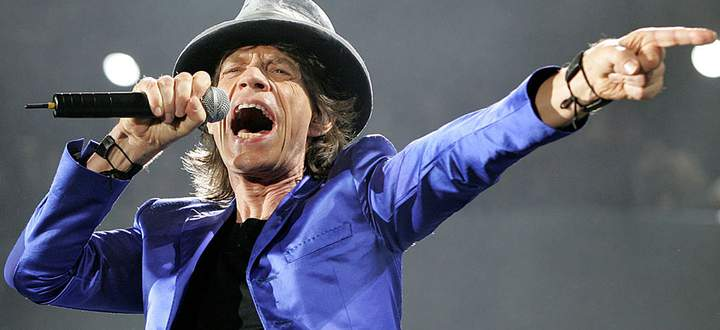 The Rolling Stones Mick Jagger performs at Frank Clair Stadium in Ottawa.