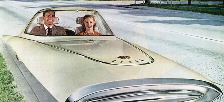 Das war in den 1960ern die Vision von selbstfahrenden Autos. Heute forscht man an unbedachten Folgen der Automatisierung.