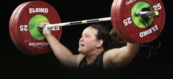 Als Gavin im Gewichtheben gescheitert, als Laurel Hubbard an der Weltspitze.