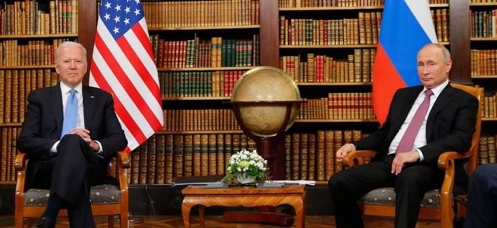 Biden und Putin