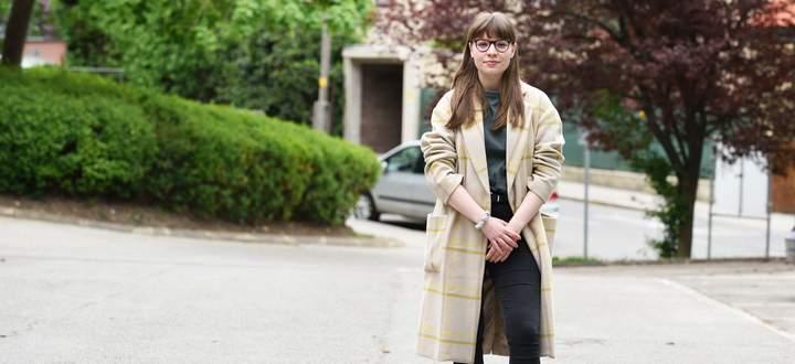 Lily Harbich hat aus dem vergangenen Jahr auch Positives mitgenommen.
