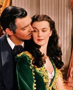 """Kommerziell erfolgreichster Film aller Zeiten: """"Vom Winde verweht"""" mit Clark Gable und Vivien Leigh."""