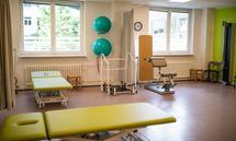 Interior of rehab center
