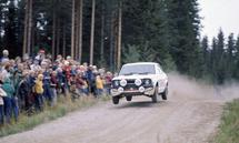 1975 World Rally Championship. 1000 Lakes Rally, Finland. 29th - 31st August 1975. Hannu Mikkola/Atso Aho (Toyota Corol
