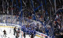 TAMPA, FL - JULY 07: Tampa Bay Lightning players celebrate after winning the 2021 Stanley Cup Final between the Montrea