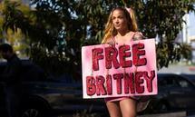 Unterstützerin der #FreeBritney-Bewegung