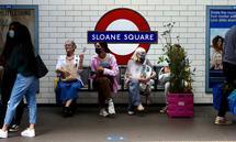 In Großbritannien breitet sich die neue Variante seit Wochen zwar nicht rasant, aber kontinuierlich aus. Im Bild eine Londoner U-Bahnstation im September.
