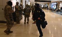 Nationalgarde und Kapitolwache waren im Alarmzustand.