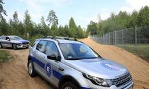 Frontex-Einheiten sind bereits an der litauisch-belarussischen Grenze im Einsatz.