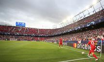 SOCCER - UEFA CL, Sevilla vs RBS