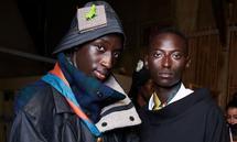Backstage: Look von Ifeanyi Okwuadi