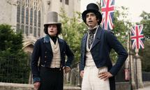 Alte Schulfreunde: James Steerforth (Aneurin Barnard, links) und David Copperfield (Dev Patel).