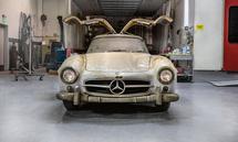 Scheunenfund. Die Zeit konnte diesem Mercedes-Benz 300 SL nur wenig anhaben.