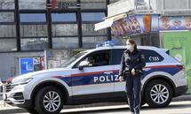 Überfall auf eine Bawag-Filiale am Rennbahnweg 40 in Wien-Donaustadt.