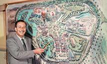 """Walt Disney präsentiert seinen """"Traum""""."""