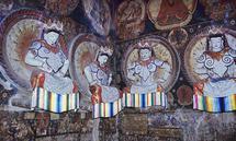 Die Tempelanlagen von Tabo gehören für die Forscherin zu den stärksten Eindrücken ihrer Laufbahn.
