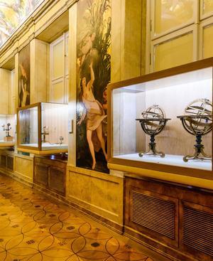 Mögliches Ziel für den Sonntag: Das Globenmuseum in Wien.