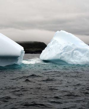 Eisberg voraus