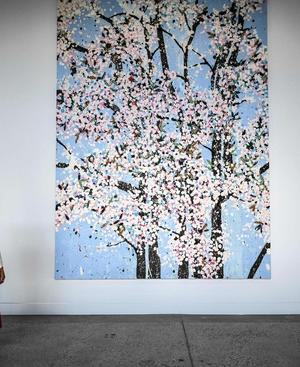 Wird dieses Bild von seinem Schöpfer Damien Hirst bald zerstört, wenn der Käufer es digital besitzen will?