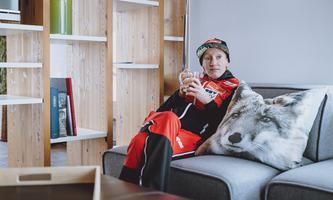 Daniela Iraschko-Stolz war bei der WM über Augenblicke der Einheit froh.