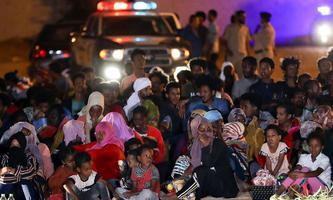 Libysche Sicherheitskräfte führten zuletzt Razzien gegen Flüchtlinge und Migranten durch.