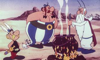 """""""Welche Farbe hat der Sand, Asterix?"""" - """"Hell."""""""
