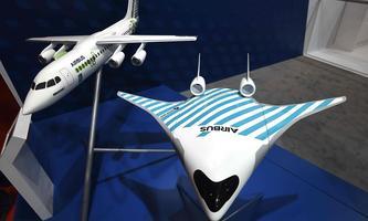 """Der abgeflachte Flugzeugrumpf des """"Maveric""""-Modells geht fließend in die Flügel über."""