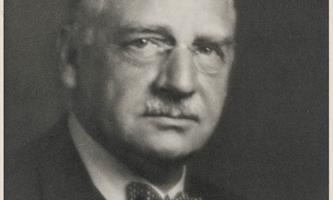 """Weltweit anerkannter Biologe, der sich in Graz """"vollkommen glücklich"""" fühlte: Otto Loewi."""