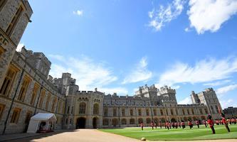 Windsor Castle ist für Besucher wieder zugänglich.