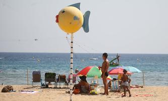Der Strandabschnitt in Benidorm ist von Touristen in normalen Jahren äußerst beliebt. Dieses Jahr ist die Sache komplizierter. Hier ein Bild vom 31. Juli.