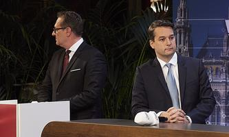 Über Jahre versammelte sich die Partei loyal hinter Heinz-Christian Strache – darunter auch Dominik Nepp.