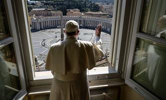 Keine jubelnden Pilger, keine dichten Massen am Petersplatz: Ostern in Rom in Zeiten des Coronavirus.