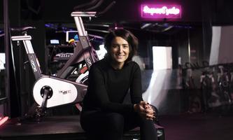 """Supercycle-Gründerin Rhana Loudon rät, gerade jetzt """"mit SportGlückshormone zu produzieren""""."""