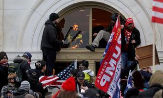 Bild von der Attacke auf das Kapitol am 6. Jänner