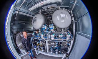 Einweihung groeszte Wasserstoffanlage