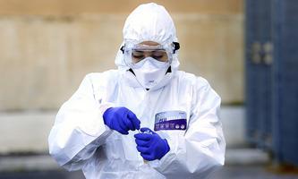 Rome April 4th 2020. Santa Maria della Pieta . Coronavirus emergency. Due to the spread of Covid-19 virus, Italy starte