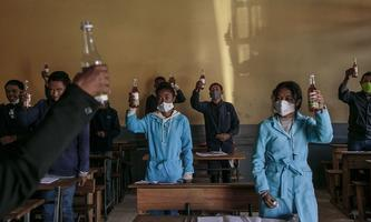 MADAGASCAR-HEALTH-VIRUS-AFP PICTURES OF THE YEAR 2020