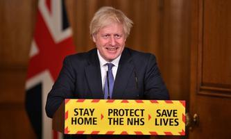 Harte Maßnahmen im Kampf gegen die Pandemie setzt der britische Premier Boris Johnson.