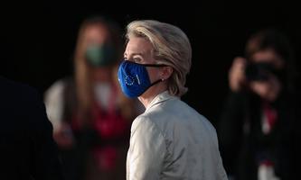 """""""Die Krise ist ein produktiver Zustand"""", formulierte Max Frisch. Bleibt zu hoffen, dass das irgendwann auch für die EU gilt. Im Bild: Kommissions-Präsidentin Ursula von der Leyen."""