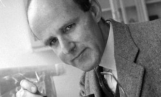 Wiener Wissenschaftler, der in Cambridge Weltruhm erlangt: Max Ferdinand Perutz.
