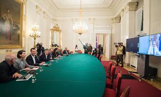 Die Sitzung von Regierung und Landeshauptleuten wurde Freitagabend teils virtuell abgehalten.