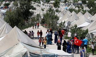 Syrische Flüchtlinge in einem Camp im türkischen Osmaniye