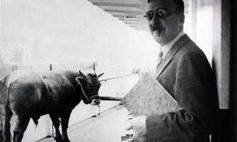 Stefan Zweig auf der Fahrt von Brasilien nach Argentinien im Jahre 1936
