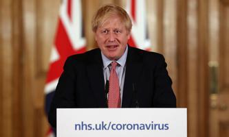 Premierminister Boris Johnson verkündete den Briten harte Zeiten.