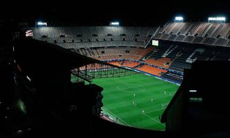 Sport Bilder des Tages Valencia CF s in action against Atalanta BC during a UEFA Champions League round of 16 second le