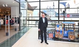 Der Kaufmann Jean Eric Treu hat die Leobener Innenstadt wiederbelebt.