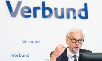 20210729 Result 1st half-year of Verbund AG VIENNA, AUSTRIA - JULY 29: CEO of Verbund AG Michael Strugl at the presentat