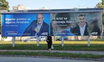 In Kroatien wird am Sonntag gewählt.